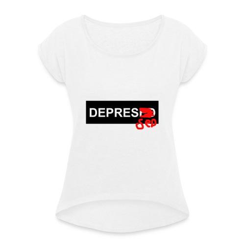 fixt - T-shirt à manches retroussées Femme