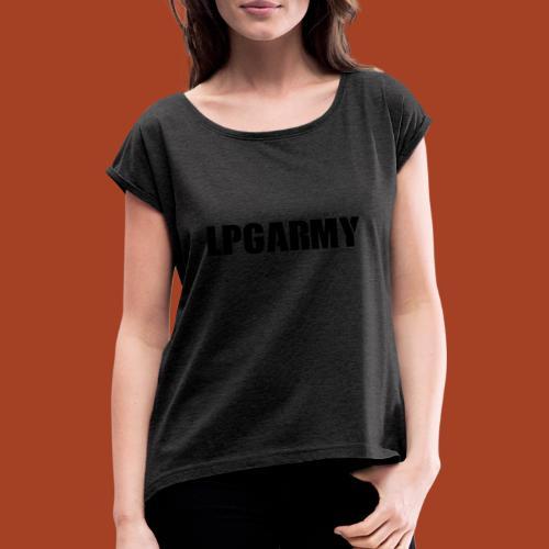COD - Frauen T-Shirt mit gerollten Ärmeln