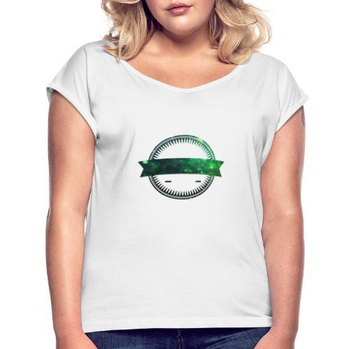 poster11 17 125148 - Frauen T-Shirt mit gerollten Ärmeln