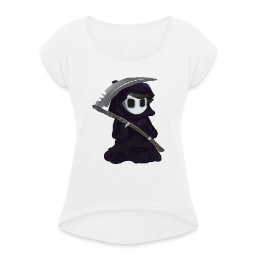 Death's Proxy - Women's T-Shirt with rolled up sleeves