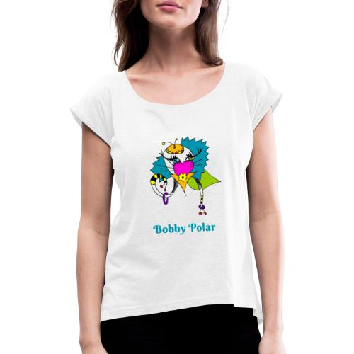 Bobby Polar - T-shirt à manches retroussées Femme
