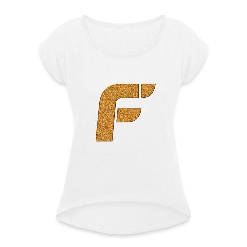 FLOW LIMITED EDITION SHIRT LANGE MOUWEN ! (BOYS) - Vrouwen T-shirt met opgerolde mouwen