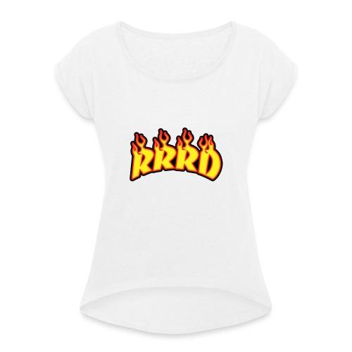 rrrd - T-shirt à manches retroussées Femme