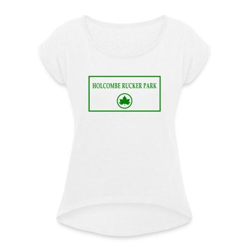 RuckerPark - Maglietta da donna con risvolti