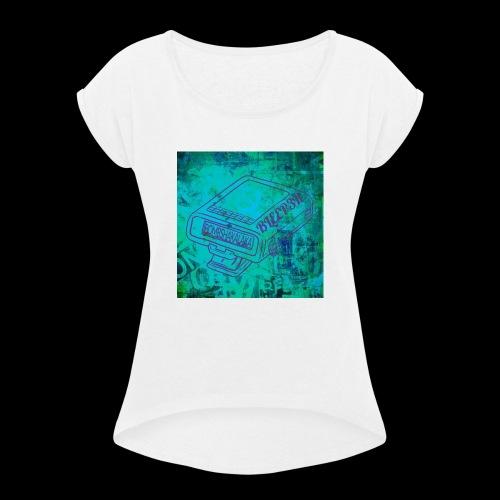 bleeper - Frauen T-Shirt mit gerollten Ärmeln
