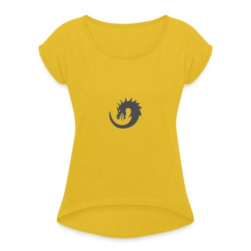 Orionis - T-shirt à manches retroussées Femme