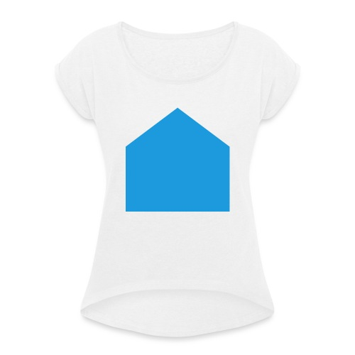 involvement - Women's T-Shirt with rolled up sleeves