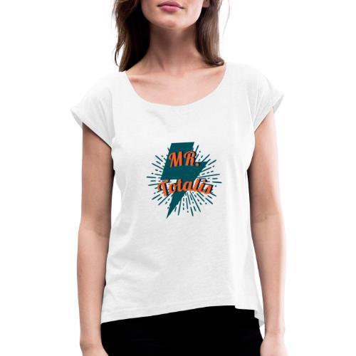 Esempio Logo o Stampa! - Maglietta da donna con risvolti