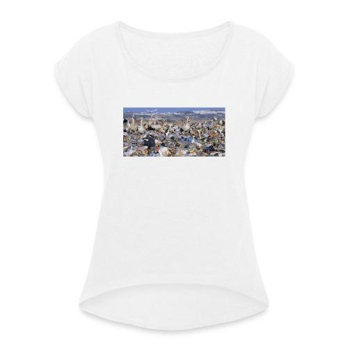 IMG 5629 - T-shirt à manches retroussées Femme