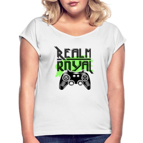 realm - Women's T-Shirt with rolled up sleeves