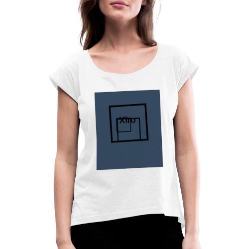 nouveau model de Xiro - T-shirt à manches retroussées Femme