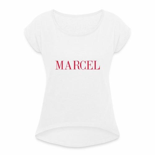 MARCEL - T-shirt à manches retroussées Femme