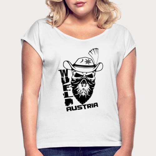 wueld Austria - Frauen T-Shirt mit gerollten Ärmeln
