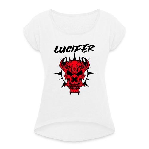 lucifer - T-shirt à manches retroussées Femme