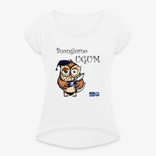 06 UGUM - Maglietta da donna con risvolti