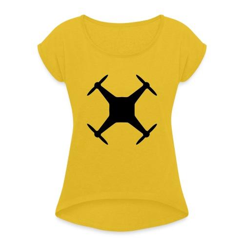 Drone Mod - T-shirt à manches retroussées Femme