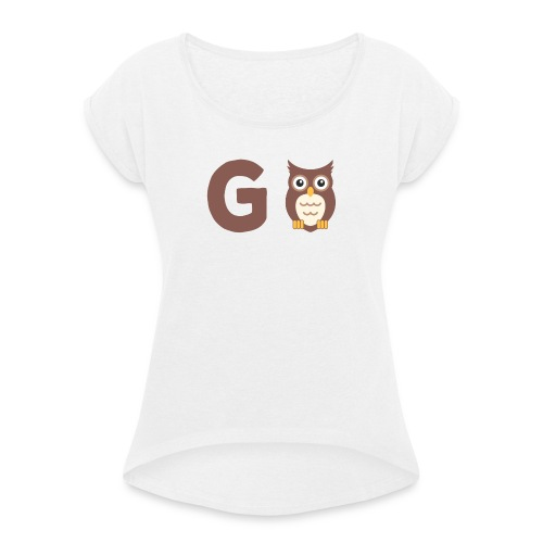 Gowl - Women's T-Shirt with rolled up sleeves