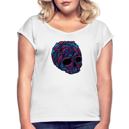 Despair - Women's T-Shirt with rolled up sleeves