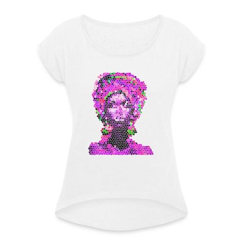 S.HE HIBISCUS - T-shirt à manches retroussées Femme