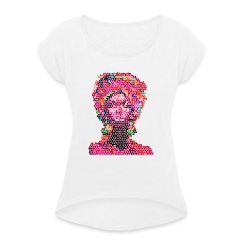 S.HE BISSAP - T-shirt à manches retroussées Femme
