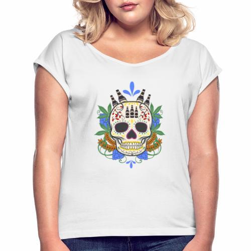 rhum - T-shirt à manches retroussées Femme