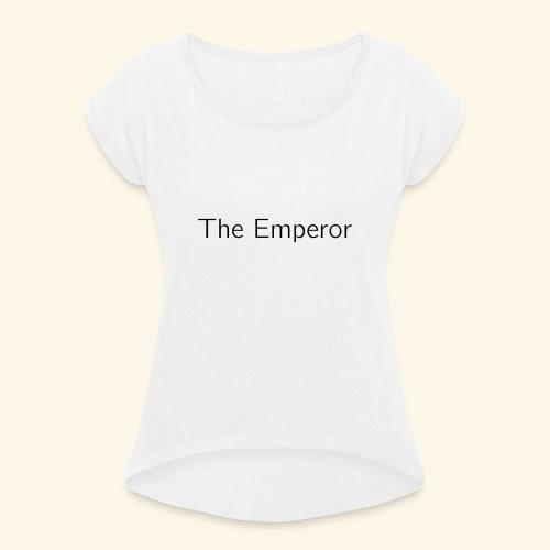 The Minimalist Tarot -The Major Arcana Series - Vrouwen T-shirt met opgerolde mouwen