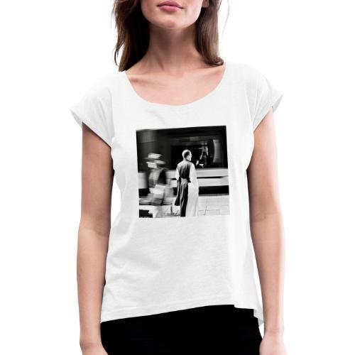 Monk - Frauen T-Shirt mit gerollten Ärmeln