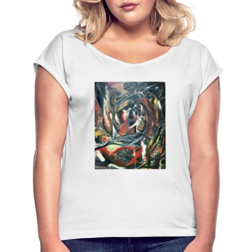 Expressionism 1997 - Women's T-Shirt with rolled up sleeves