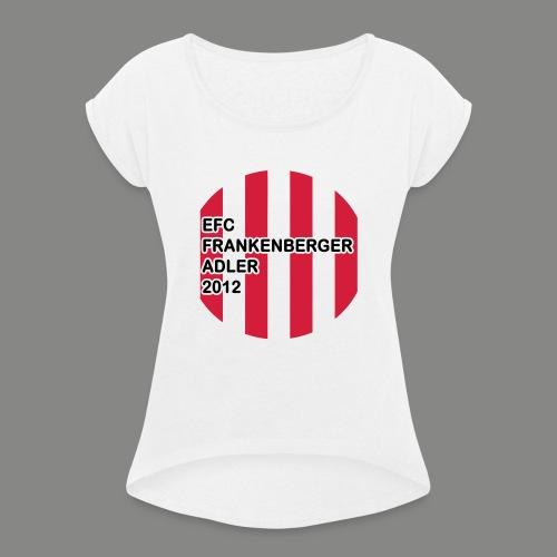 EFC Trikot-Style - Frauen T-Shirt mit gerollten Ärmeln