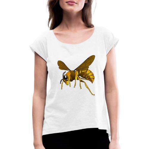 hornet 151003 - Camiseta con manga enrollada mujer