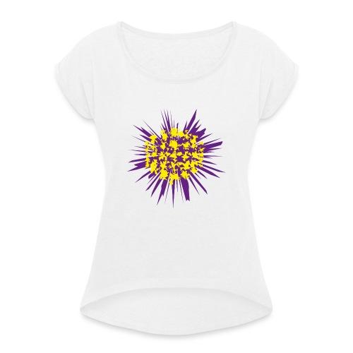 polo_revienta-png - Camiseta con manga enrollada mujer