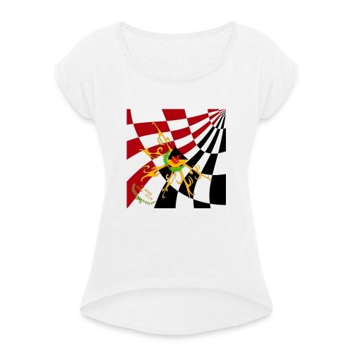 Spilla Flag - Maglietta da donna con risvolti