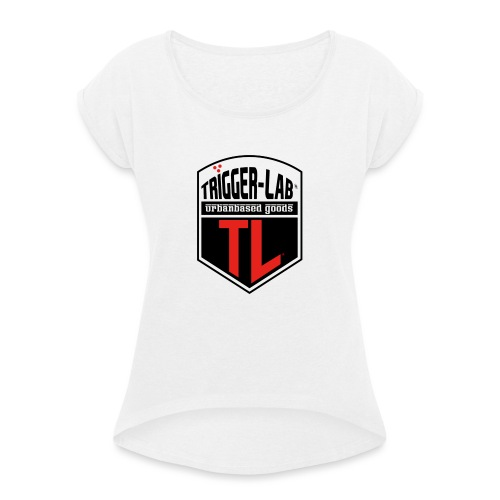 THIERY - Vrouwen T-shirt met opgerolde mouwen