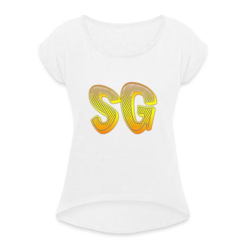 SG Uomo - Maglietta da donna con risvolti