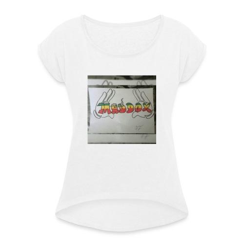 Maddox - Frauen T-Shirt mit gerollten Ärmeln
