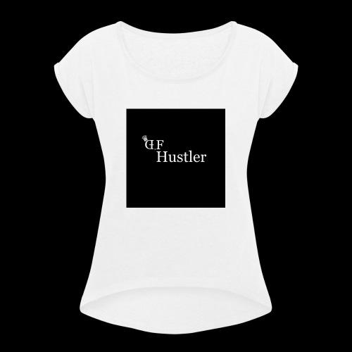 DF - T-shirt à manches retroussées Femme
