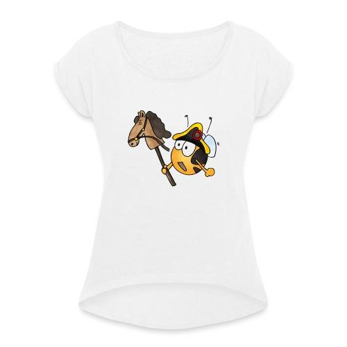 General Nachwuchs - Frauen T-Shirt mit gerollten Ärmeln
