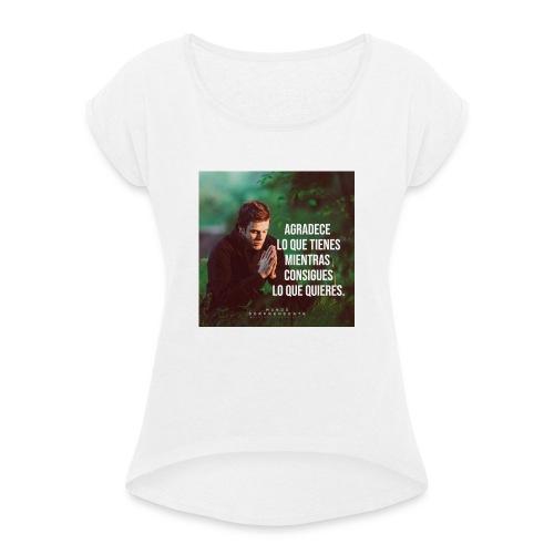 61316487 2073371446305820 2528591506516738048 n - Camiseta con manga enrollada mujer