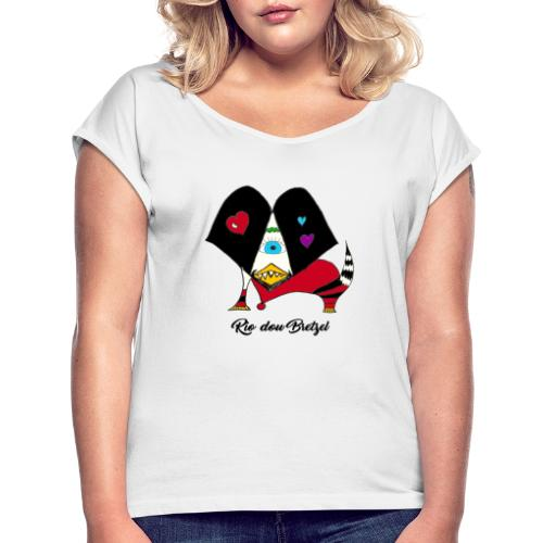 Rio dou Bretzel - T-shirt à manches retroussées Femme