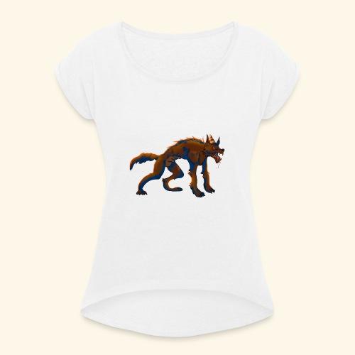 werewolf - T-shirt à manches retroussées Femme