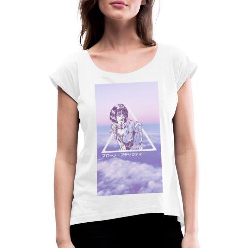Bruno Bucciarati - T-shirt à manches retroussées Femme