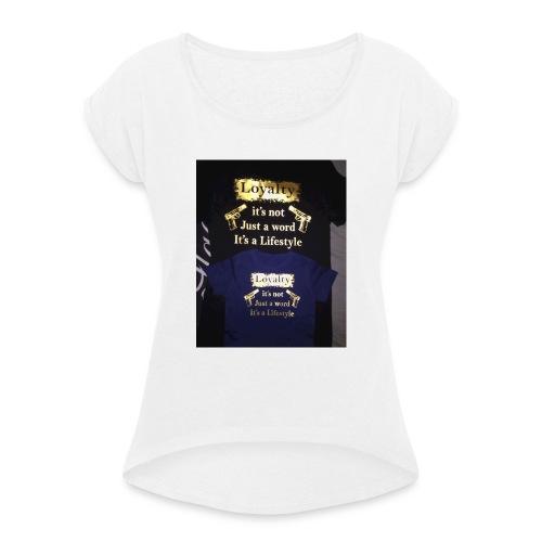 IMG_20160131_195358-jpg - Vrouwen T-shirt met opgerolde mouwen