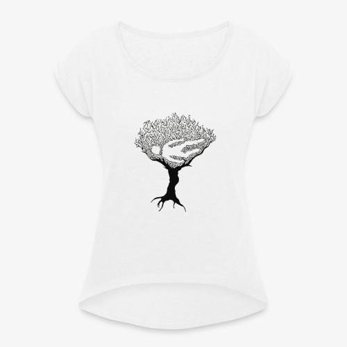 KILLS NATURE HUMAINE - T-shirt à manches retroussées Femme