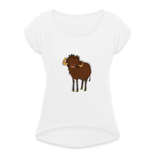 La bufala brasiliana - Maglietta da donna con risvolti