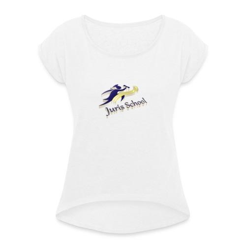 Juris School 3d - Maglietta da donna con risvolti