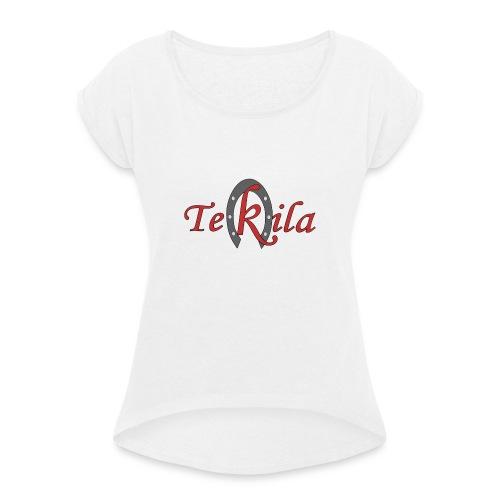 TEKILA clasico - Camiseta con manga enrollada mujer