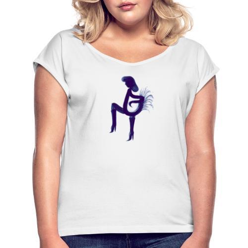 Coco Khodhé - Maglietta da donna con risvolti