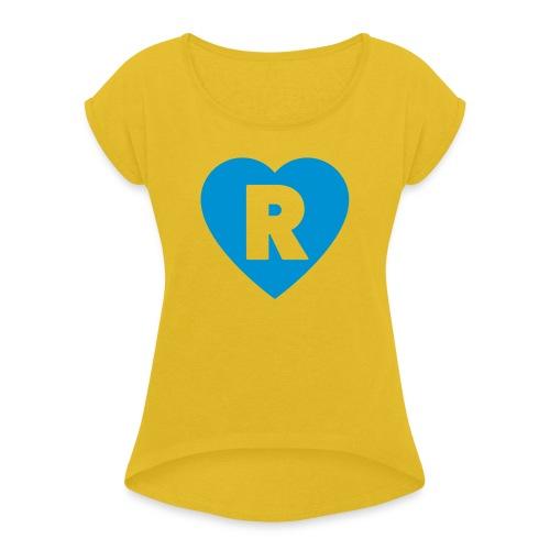 cuoRe - Maglietta da donna con risvolti