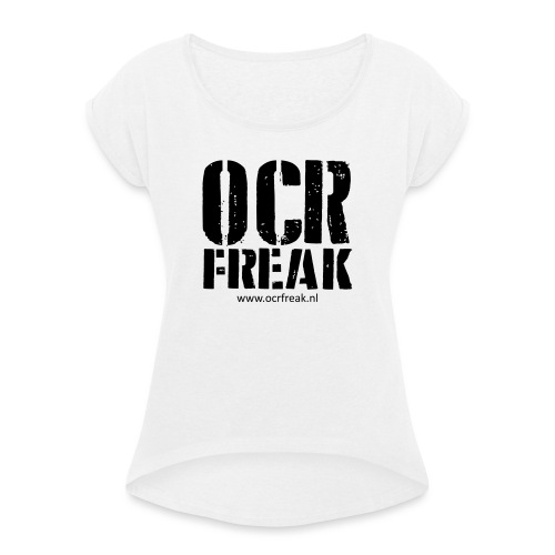 OCR Freak - Vrouwen T-shirt met opgerolde mouwen