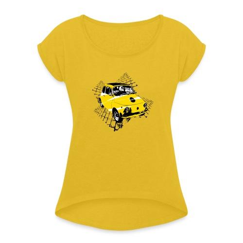 Ninho 500 - Maglietta da donna con risvolti
